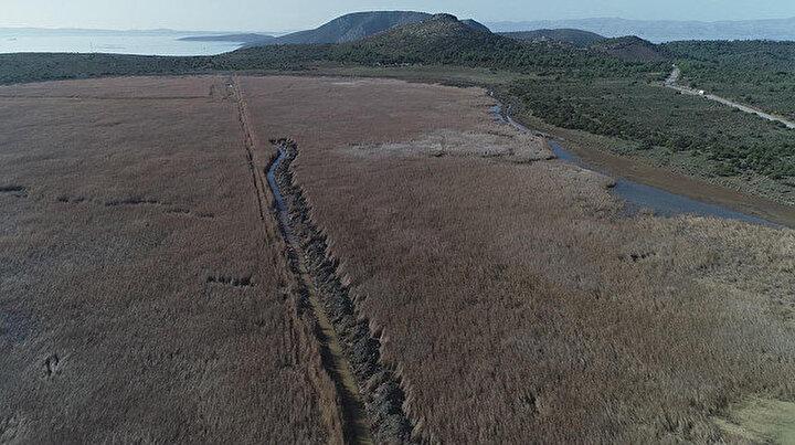 İzmir'in 'Dipsiz Göl'ü' İris, eski haline getirilecek