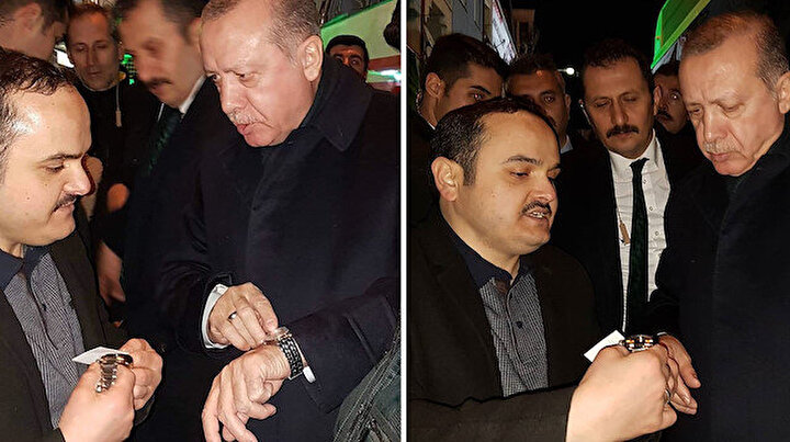 Cumhurbaşkanı Erdoğan saat tamircisinin isteğini unutmadı 2 yıl sonra hediye olarak gönderdi