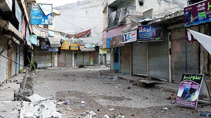 Hayalet kasabaya döndü: 60 bin nüfuslu Al Atarib sakinleri saldırılardan kaçtı
