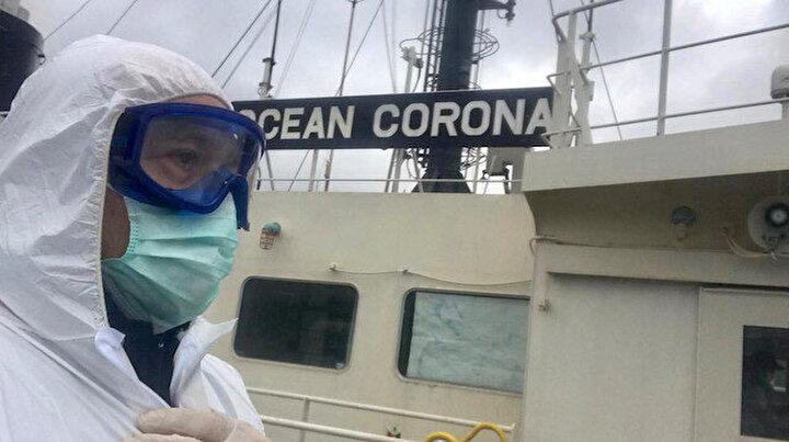 İstanbul Boğazından Corona geçti: Kıyı Emniyeti evde kalın çağrısı yaptı