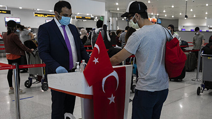 ABDden Türkiyeye dönmek isteyen vatandaşlarımız özel uçakla yurda getirilerek karantinaya alındı