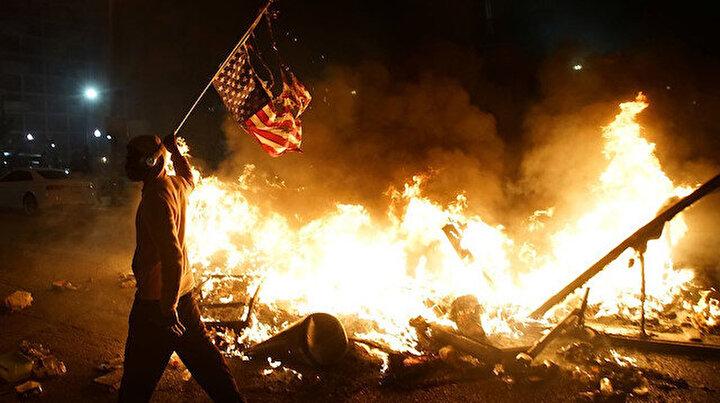 Protestolarda son durum ne? George Floydun ölümü sonrası Amerika öfkeli
