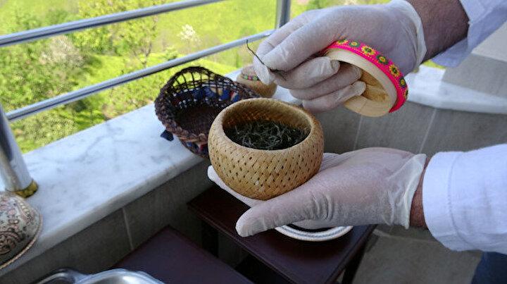 Kilosu 4 bin 500 liraya satılan beyaz çay, şifa kaynağı