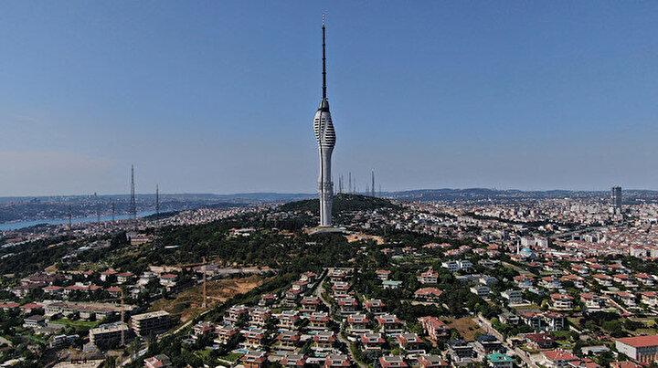 İstanbulun sembolü olacak: Çamlıca Kulesi için geri sayım başladı