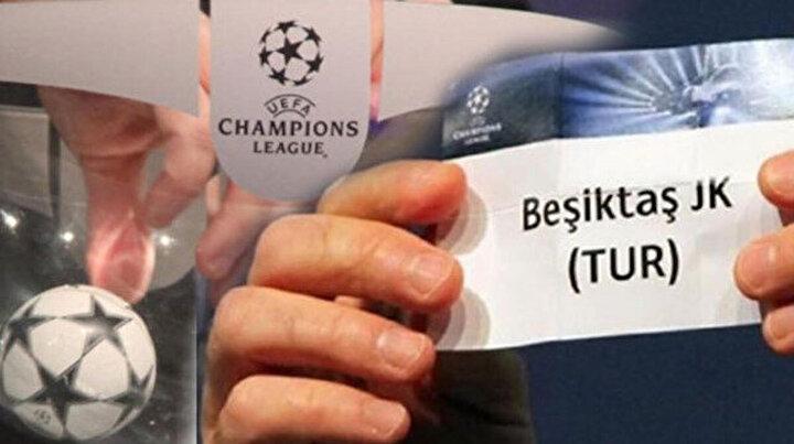 Beşiktaşın Şampiyonlar Ligine gitmesi halinde karşılaşacağı takımlar belli oldu