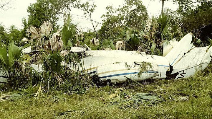 Özel jete şok operasyon: Bir tonluk uyuşturucuyla araziye düşürüldü
