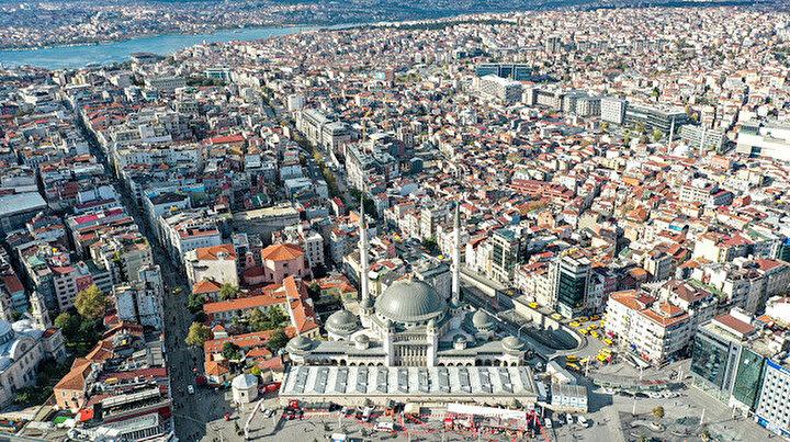 Taksim Camii için son 5 ay: Yüzde 85i tamamlandı, Ramazanda ibadete açılacak