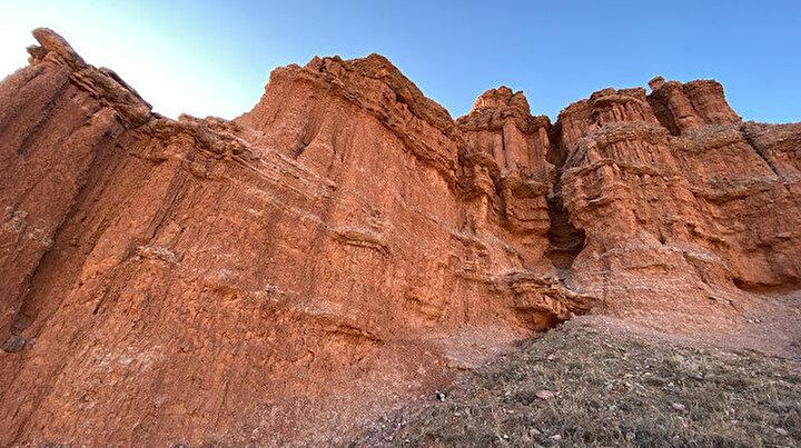 Tam 300 milyon yıl önce Erzurumda oluştu: Kırmızı periler diyarı
