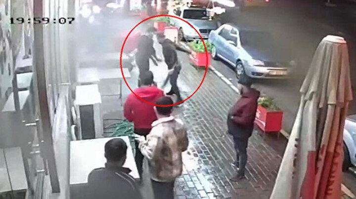 İzmirdeki haraç dehşeti kamerada!