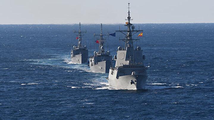 NATOdan Doğu Akdeniz geçişi