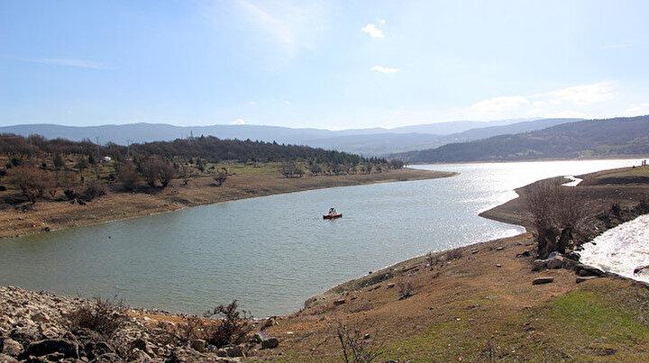 Gölköy Barajında su seviyesi yüzde 27ye yükseldi