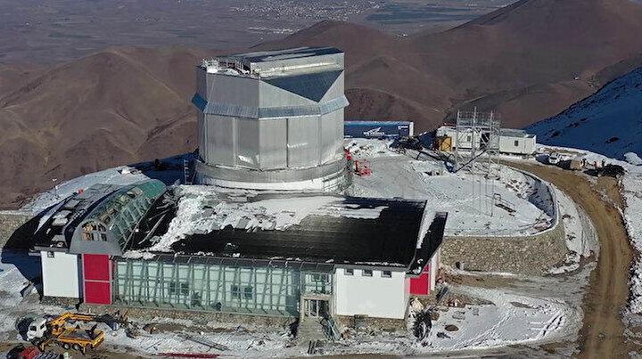 Türkiyenin en büyük teleskobu ilk ışığı 2022de alacak
