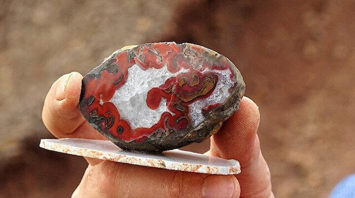 Yol yapımında kullanılıyordu: Milyonlarca yılda oluştuğu tespit edildi