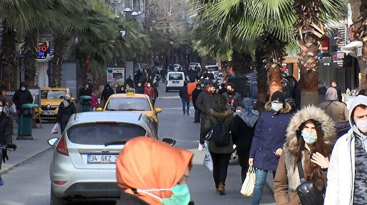 Yer Gaziosmanpaşa: Kısıtlamaya rağmen iğne atsan yere düşmedi