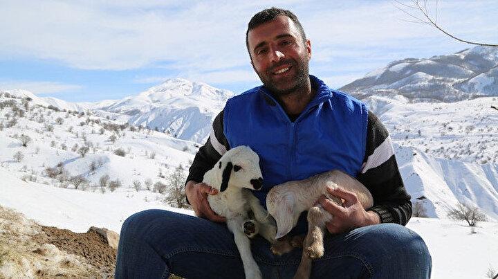 Şehir hayatı sıkıcı geldi: Köyüne yerleşip hayvancılık yapmaya başladı