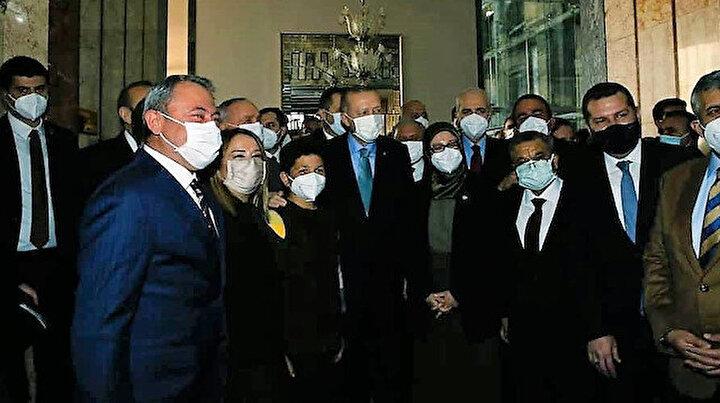 Cumhurbaşkanı Erdoğan Çoban Şevki ile bir araya geldi