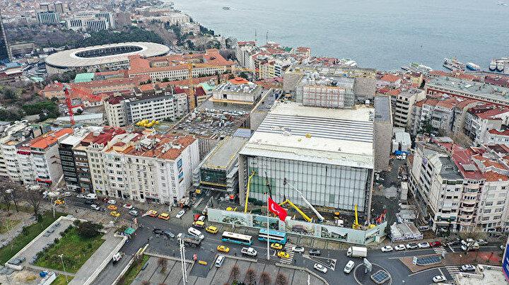 Son 4 ay: Atatürk Kültür Merkezi inşaatında sona doğru