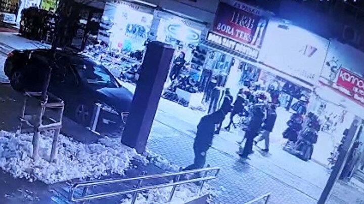 Tokkal ailesinin katil zanlısı güvenlik kamerası görüntüleri ortaya çıktı: İnşaat işçisi kılığında gelmiş