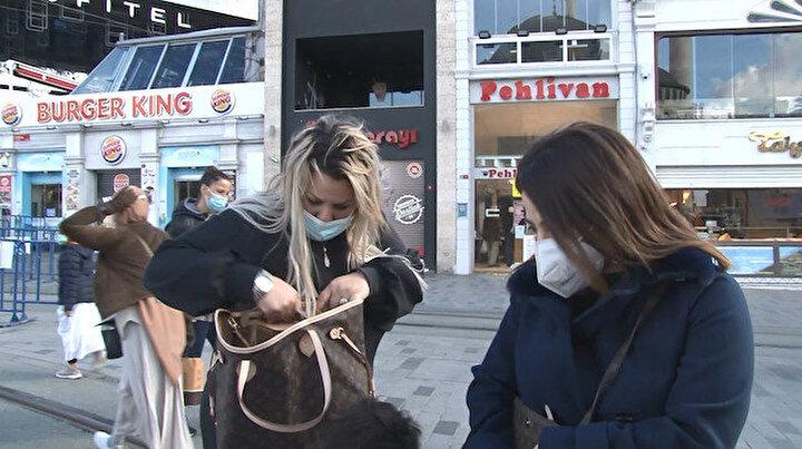 Taksimde iki kadını takip ettiği öne sürülen kişiye sokağa çıkma cezası