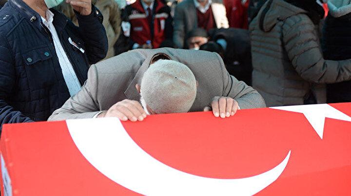Bitlis şehidi Astsubay Kıdemli Başçavuş Demir acı veda: Gözyaşları sel oldu