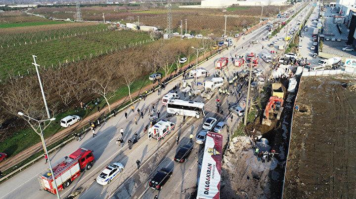 Bursadaki facia sonrası şoförün ifadesi ortaya çıktı:  Çarpmaya engel olamadım