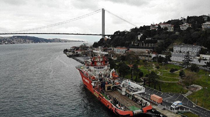Türkiye'nin ilk ve tek acil müdahale gemisi Nene Hatun
