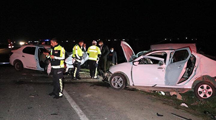 Şanlıurfada beş kişinin hayatını kaybettiği katliam gibi kaza