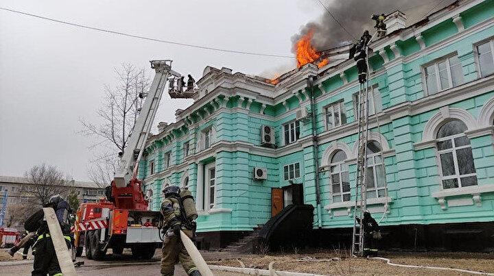 Kalp ameliyatı sırasında yangın: Alevlerin ameliyathaneye sıçramaması için yoğun çaba sarfettiler 