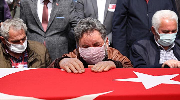 Şehit Türk Yıldızları pilotuna acı veda: Yüzbaşı Burak Gençcelep son yolculuğuna uğurlandı