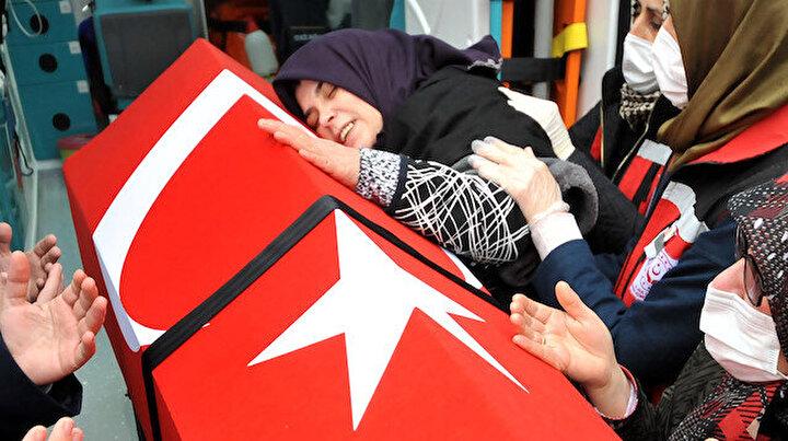 Afrin şehidi Gökhan Çakırın acılı annesinden yürek yakan feryat: Çok kötü şaka yaptın annem