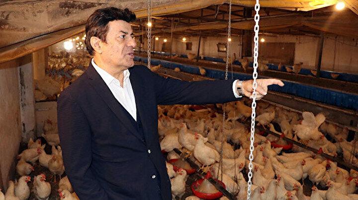Bir milyon liralık yatırım: Coşkun Sabah tavuk çiftliği açtı