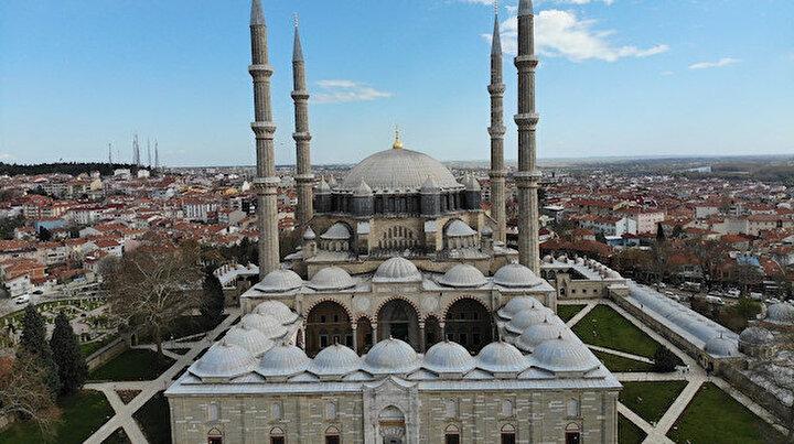Mimar Sinan'ın ustalık eseri Ramazan-ı Şerif'e hazır: 6 saatte bir dezenfekte ediliyor