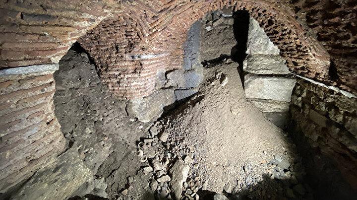 Topkapı Sarayı'nda Roma dönemine ait üç bölümden oluşan galeri bulundu