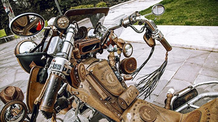 Bu motosikletin dünyada eşi benzeri yok: Çok feci para isterim satacak olsam
