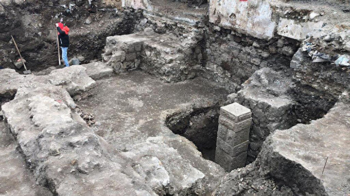 Otopark projesi için yapılan kazı sırasında bulundu: Açık hava müzesi olacak