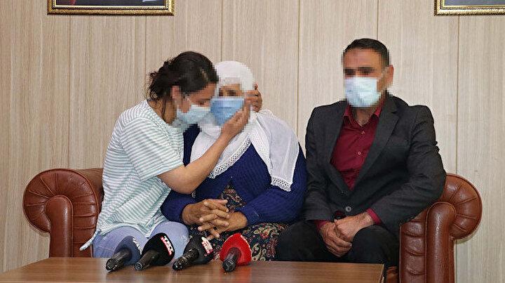 PKKda çözülme sürüyor: İkna edilerek teslim olan kadın terörist ailesine kavuştu
