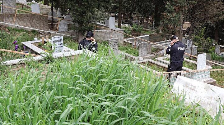 Dua etmek için mezarlığa gitti: Kayıp oğlunun cesedini buldu
