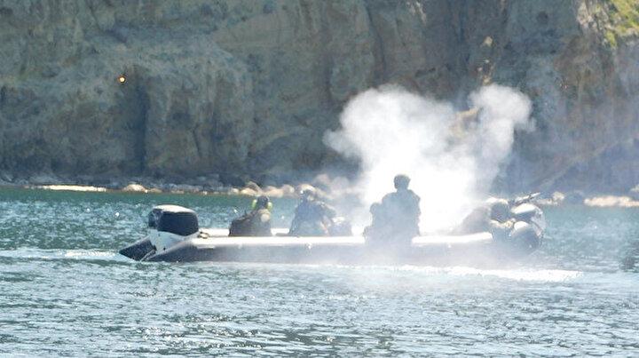 MSB paylaştı: Kahraman Amfibi Hücum Timleri eğitimlere devam ediyor