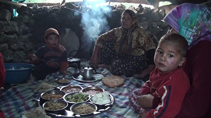 Yörüklerin yayla yolculuğunda yüzyıllardır devam eden iftar geleneği