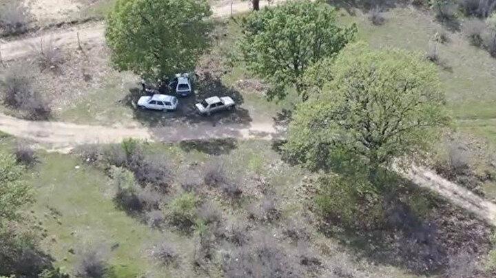 Kısıtlamayı ihlal edip piknik yaptılar: Drone ile tespit edildi