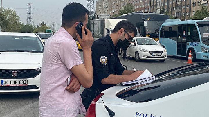 İzin belgesi denetiminde şaka gibi olay: Polise yazar kasa fişi gösteren sürücü cezadan kaçamadı