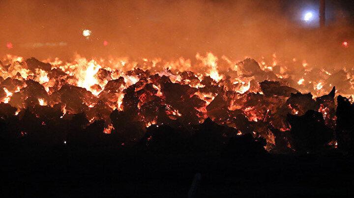 Afyonkarahisarda yangın faciası: Ağaç köklerinde yangın çıktı 80 bin metrekarelik alana yayıldı