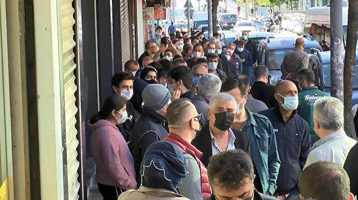 Bugün İstanbul: Metrelerce uzunlukta sabah kuyruğu