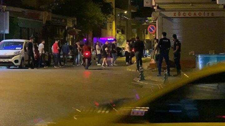 Mahallede drift yaparken kaza yaptı: Vatandaşlar tepki gösterince arkadaşı otomobili üzerlerine sürdü