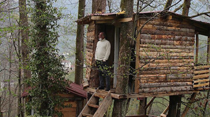 Rizeli marangozdan pandemi sığınağı