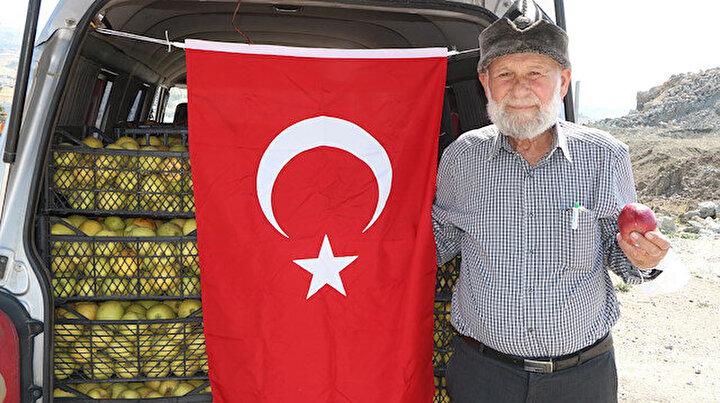 Elmacı Dede Pençe Harekatındaki Mehmetçiği unutmadı: Sırf onların gönüllerini fethedebilmek için Şırnak'tayım