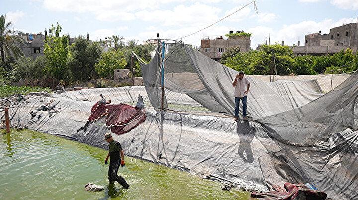 Tek geçim kaynağıydı: İşgalci İsrail diğer binlerce işletme gibi onu da yerle bir etti