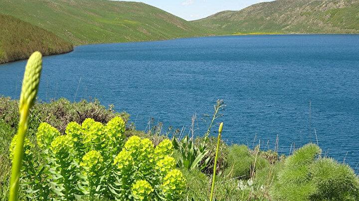 Hamurpet Gölleri manzarasıyla görenleri hayran bırakıyor: Dört bir tarafı dik kayalarla çevrili