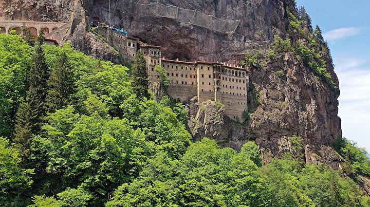 Sümela Manastırındaki restorasyonun yüzde 80i tamamlandı