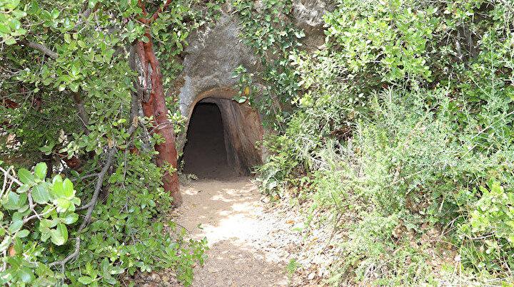 Şaşkına çeviren keşif: Tarihi tünel doğa yürüyüşçülerinin uğrak mekanı oldu